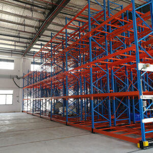 Explosion Proof Warehouse- Real Case for Heavy Duty Mobile Rack (I)